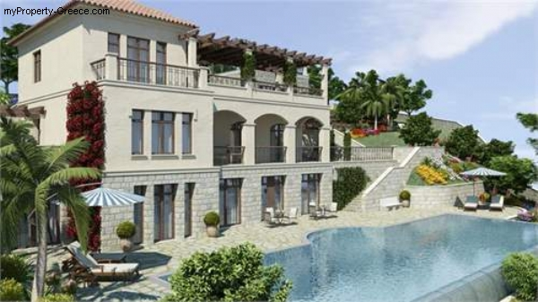 Photo: Luxury 4 bed villa Alexandra with guest house, pool, sea views