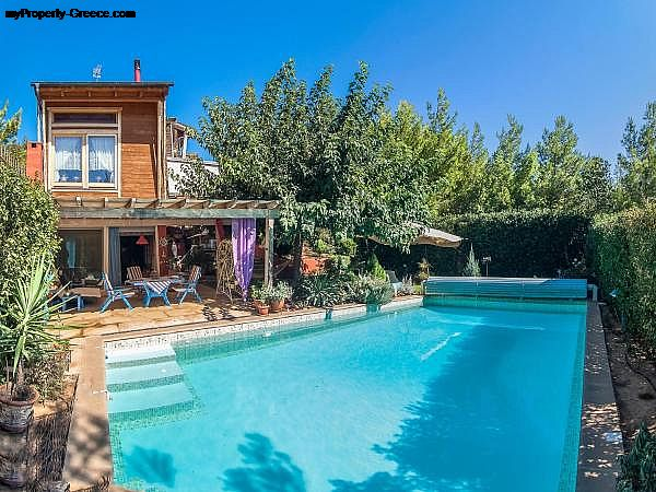 Photo: Manina Chalet with pool
